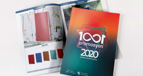 HER YIL YENİLENEN PROMOSYON  KATALOĞUMUZ 2020'YE HAZIR