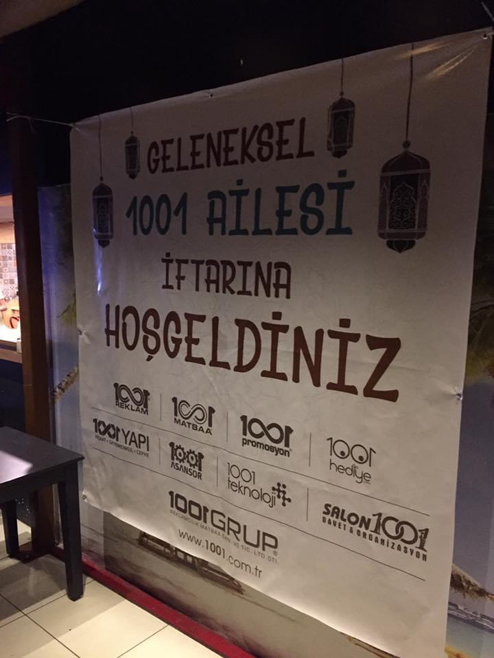 1001 GRUP AİLESİ GELENEKSEL İFTAR PROGRAMINDA BULUŞTU